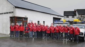 Moffat Mountain Rescue Team Photograph