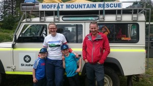 Waker Rescued From Criffel